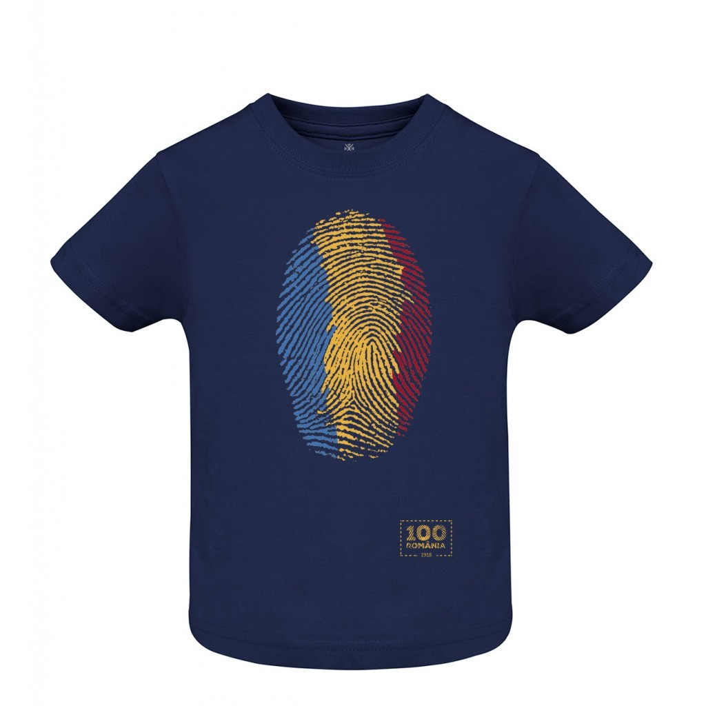 Tricou Amprenta Romania - copii