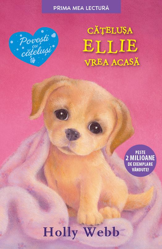 Cățelușa Ellie vrea acasă
