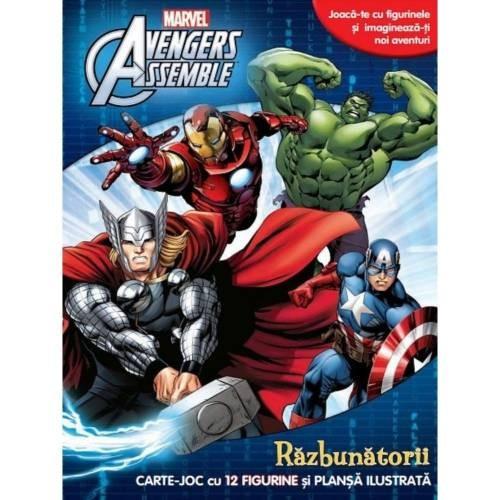 avengers-assemble-razbunatorii-carte-joc-cu-12-figurine-si-plansa-ilustrata