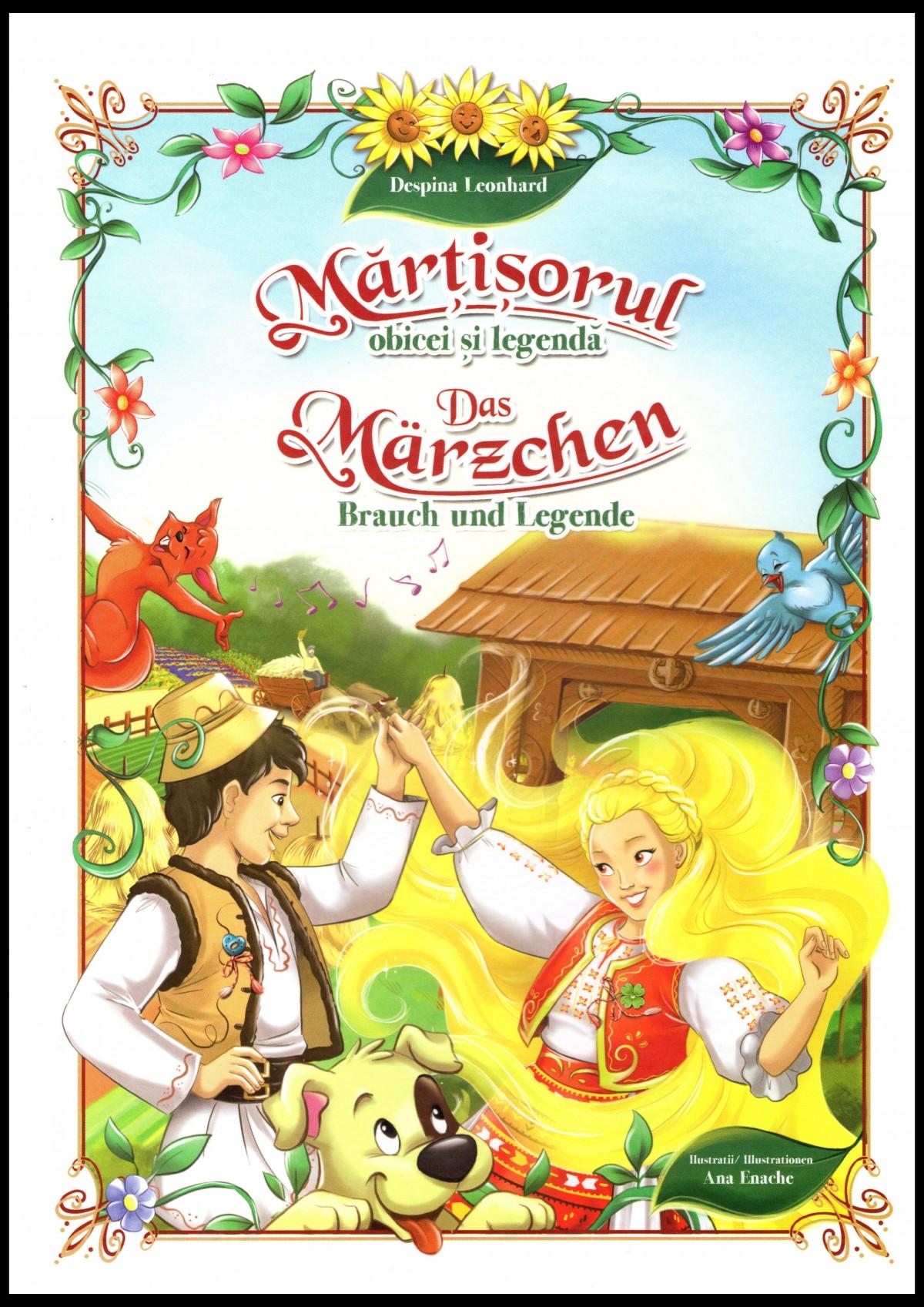 Martisorul: obicei si legenda / Das Märzchen: Brauch und Legende – interviu pentru cititorii Buchuriei cu autoarea, doamna Despina Leonhard